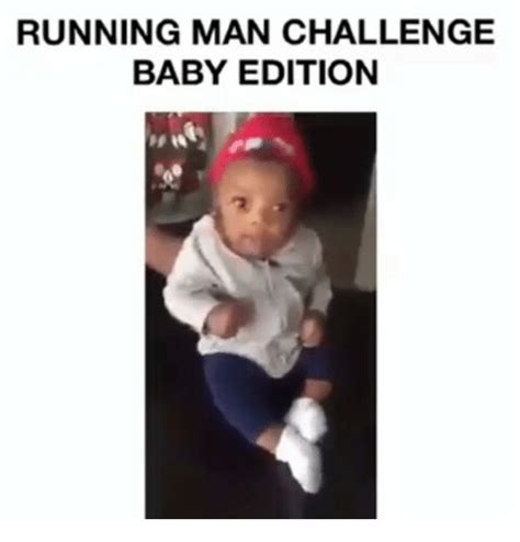 Running Baby Meme - running man challenge baby edition hh meme on sizzle