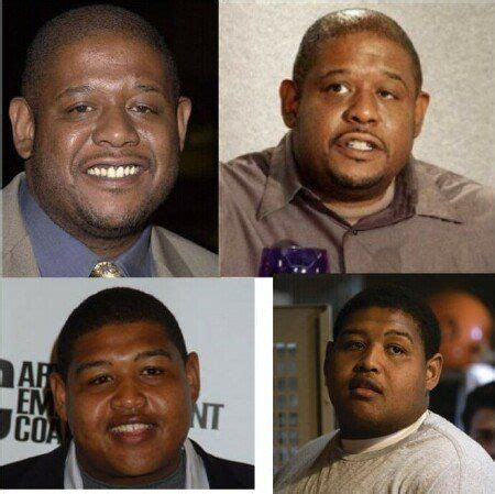 forest whitaker vs omar benson miller 88 best images about celebrity lookalikes on pinterest