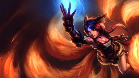 Mozilla Firefox Themes League Of Legends   league of legends firefox ahri by themelonmuffin on