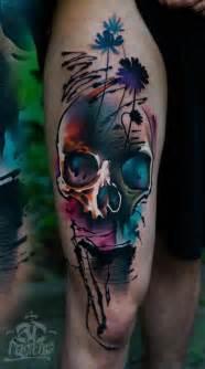 colorful skull tattoos best 25 pretty skull tattoos ideas on skull