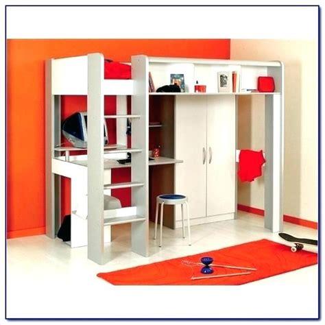 Ikea Hochbett Mit Schreibtisch Und Schrank