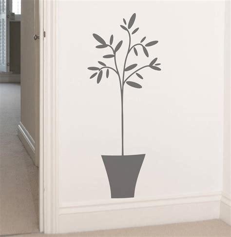 notonthehighstreet wall stickers olive tree wall sticker by leonora hammond notonthehighstreet