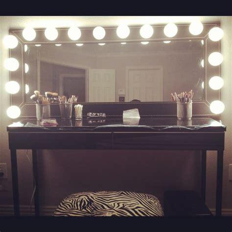 do it yourself makeup vanity mirror vanities