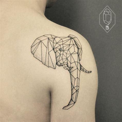 17 mejores ideas sobre geometric elephant tattoo en