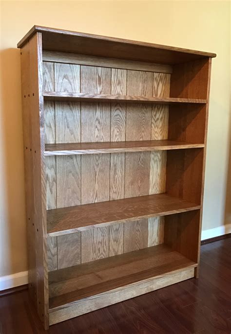 White Oak Bookcase Christopher D Cook Blog White Oak Bookcase