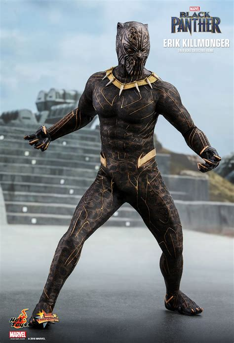 Toys Black killmonger gets his own black panther deluxe figure nerdist