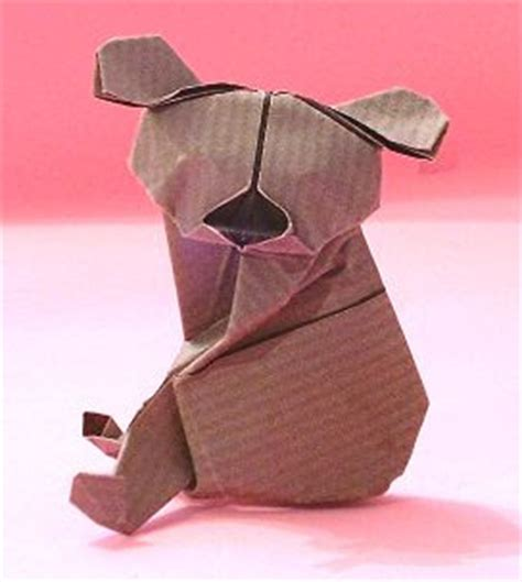 Koala Origami - make easy arts and crafts for arts and crafts picture