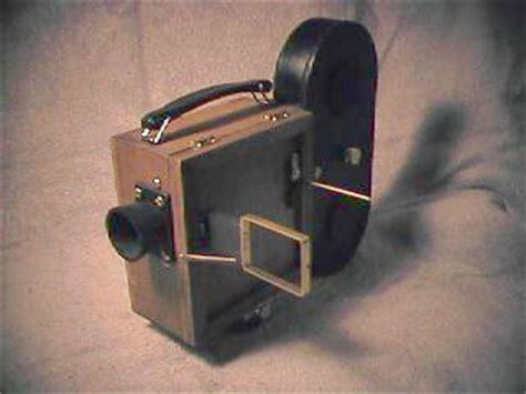 16 mm pinhole movie camera project