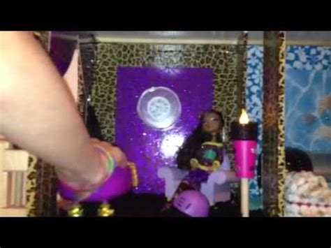 monster high dolls house tour monster high doll house tour youtube