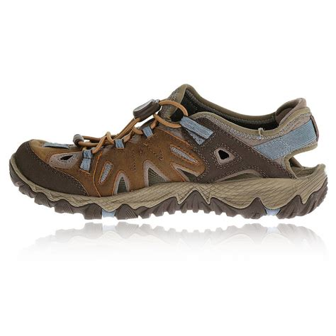 waterproof sandals merrell all out blaze sieve womens brown waterproof