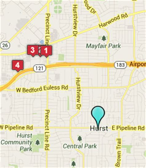 map of hurst texas hurst texas hotels motels see all discounts