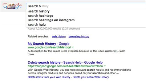 Search History How To Opt Out Of Data Tracking On Your Most Used