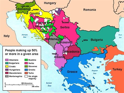 balkans map why is bosnia important to russia