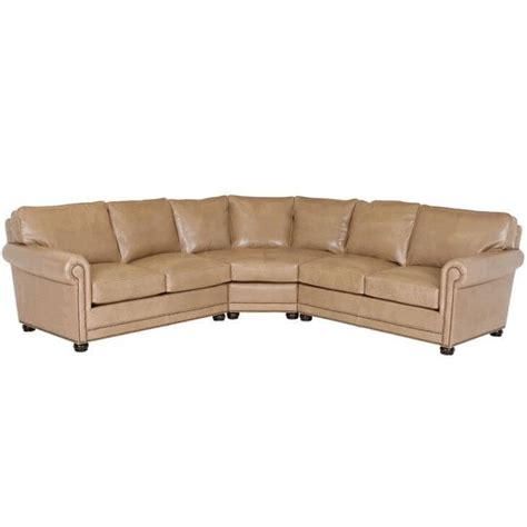 Classic Leather Sectional by Classic Leather Larsen Sectional Larsen Leather Sectional