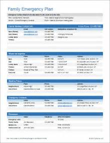 Emergency Call List Template Survival Kit Winter Driving Home Emergency Contact List