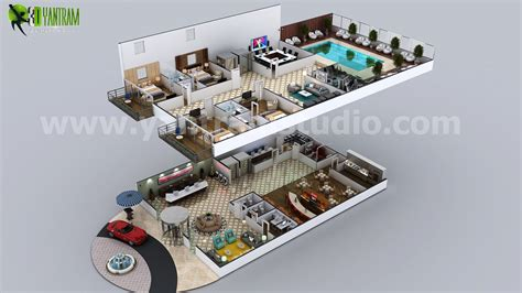hotel story layout conceptual multistory hotel floorplan by yantram 3d