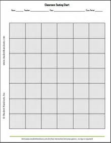 shaded classroom seating chart student handouts