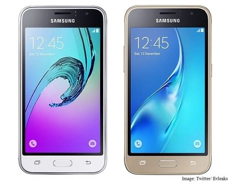 Samsung Galaxy J1 White samsung galaxy j1 2016 leaked in press images technology news