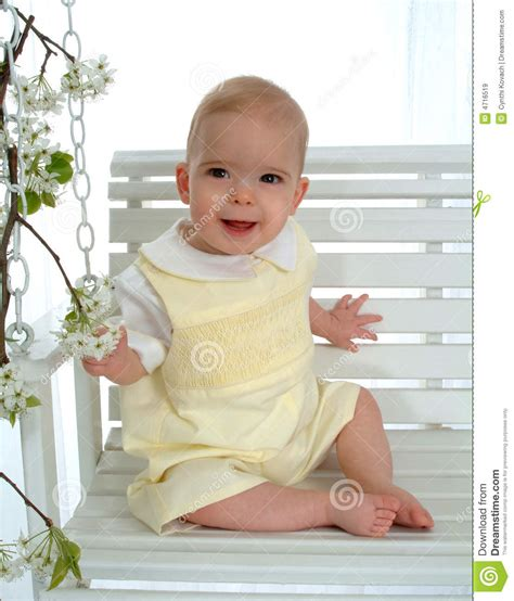 baby on swing baby on swing royalty free stock images image 4716519