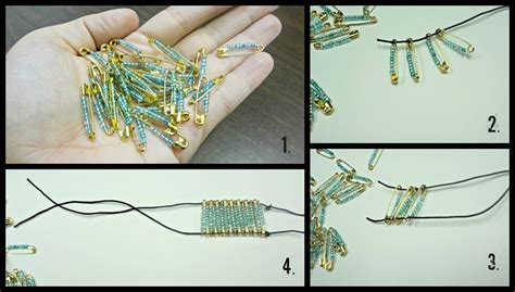 How To Make String Step By Step - how to make bracelets with string step by step with picture