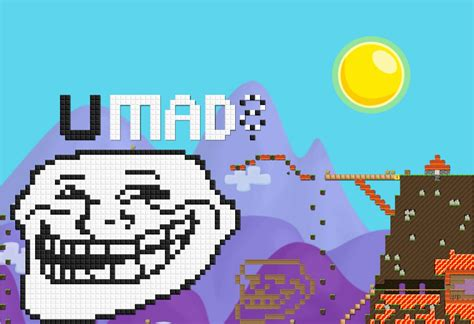 growtopia flowery wallpaper my giant trollface created in the game called growt