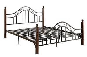 Oak Bed Frames Sydney Dhp Sydney Metal Bedframe Headboard And Footboard With