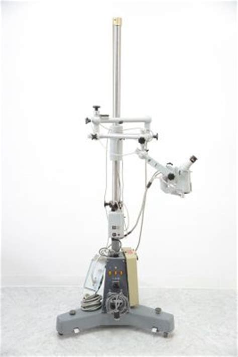 microscope fiber optic light source used zeiss opmi 6 surgical microscope with fiber optic