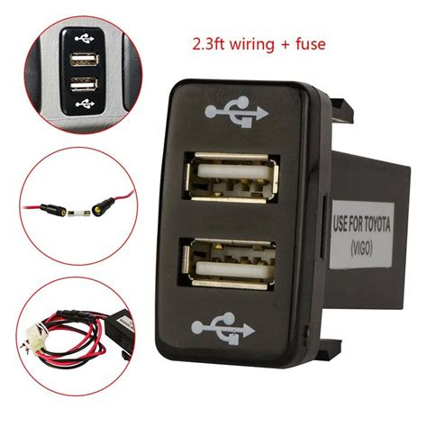 Car Charger Wellcomm 2 Port Usbextension Socket Original 25 best ideas about tacoma accessories on
