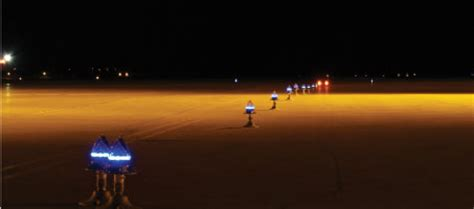 solar powered runway lights solar power the safe solution for runway lighting