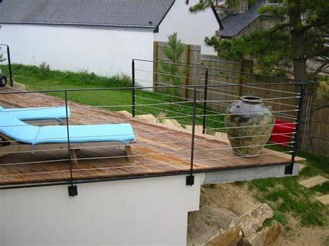 nivrem rambarde bois terrasse exterieur diverses id 233 es de conception de patio en bois