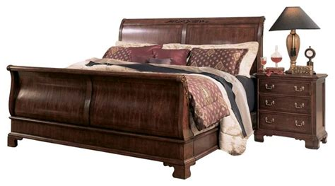 american drew cherry grove bedroom set american drew cherry grove 3 sleigh bedroom set in antique cherry traditional beds