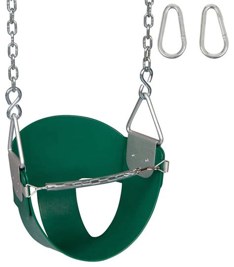 swing seats and chains highback 1 2 bucket swing seat with chains and hooks