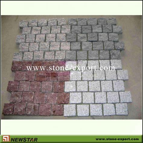 Cobblestone Paver Mats by Granite Cobblestone Pavers Made In China Granite