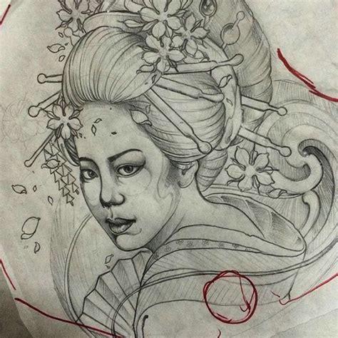 geisha tattoo inspiration 10 best tattoos mine and inspiration images on pinterest