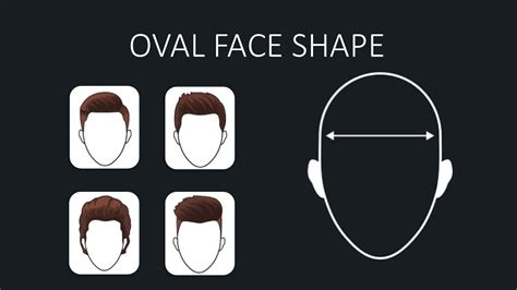 oval head shape hairstyle men hairstyles for men according to face shape face shape