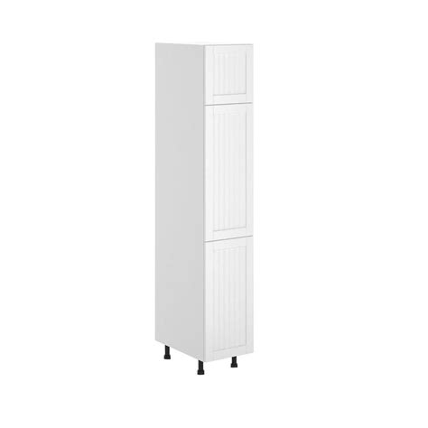 home depot pantry cabinet white eurostyle odessa ready to assemble 15 x 83 5 x 24 5 in