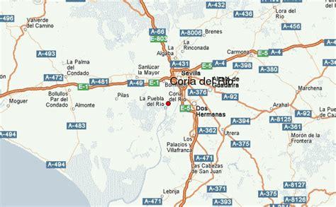 mapa coria gu 237 a urbano de coria r 237 o