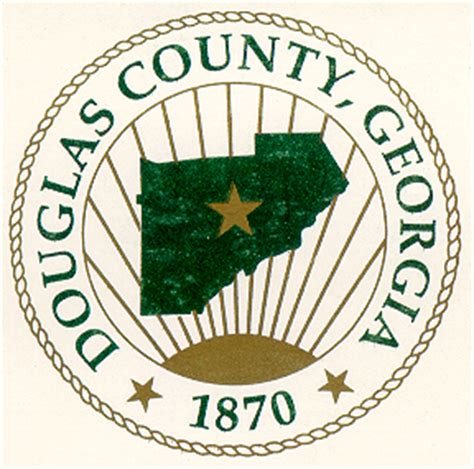 Douglas County Ga Search File Douglas County Ga Seal Png