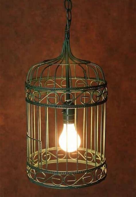 Antique Birdcage Pendant Lighting In Painted Finish Birdcage Pendant Light