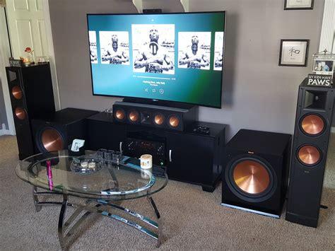 setup home theater showcase  klipsch audio