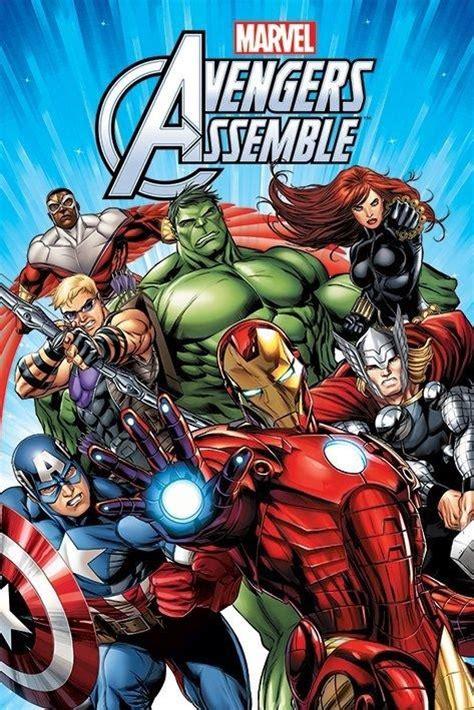 new marvel comics avengers assemble characters poster ebay