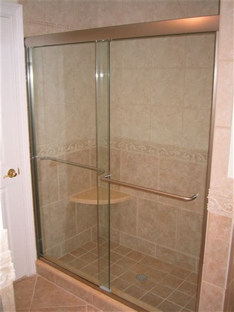 Shower Enclosure by Semi Frameless Shower Enclosures