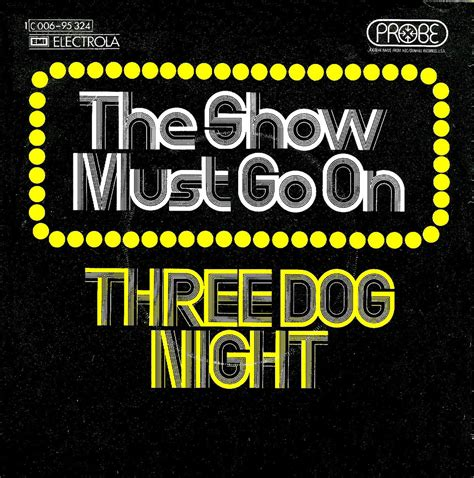 three the show must go on the show must go on by three fonts in use
