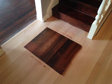 staining hardwood floors sanding  finishing