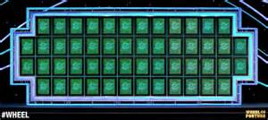 wheel of fortune board template category is landmark wheel of fortune