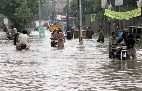 xl tutorial jammu downpour leaves several roads waterlogged in lahore