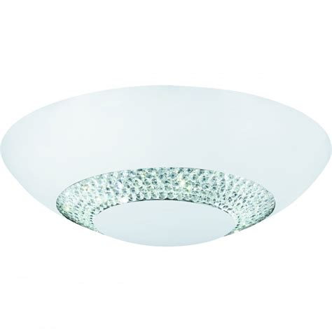 4548 36wh halo led flush ceiling matt white