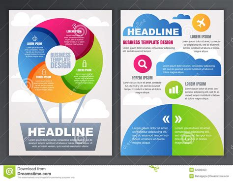 design flyer template online free brochure design templates best and