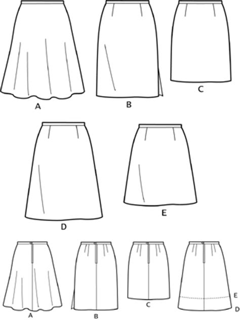 pattern review new look 6843 new look 6843 misses skirts