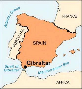 printable road map of gibraltar gibraltar location map kids encyclopedia children s